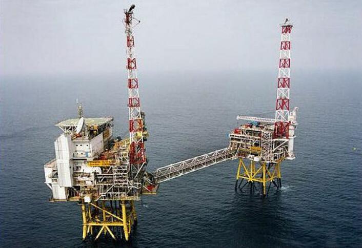 Oljeplattformen Draupner S (foran) med boligkvarter ble installert i 1984. Draupner E er en ubemannet plattform som ble installert sommeren 1994. Plattformene ligger i Nordsjøen midt mellom Norge og Skottland og danner knutepunktet for gassrørledningsnettet i Nordsjøen.