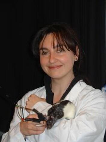 """""""Francesca Sargolini er post doc. ved Moserlaboratoriet, og hovedforfatter på den nye studien."""""""