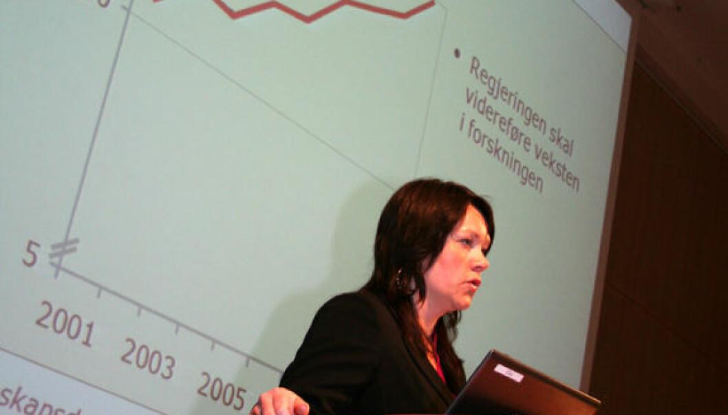 Statssekretær Åsa Elvik i Kunnskapsdepartementet. (Foto: Asle Rønning)