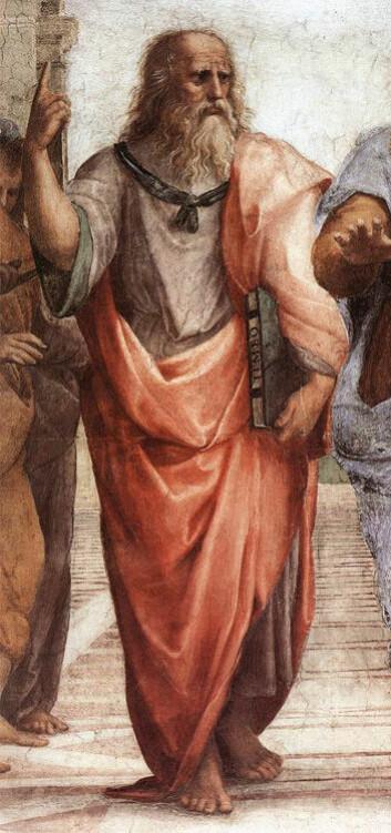 Platon beskrev to typer kjærlighet, den åndelige og den kjødelige. (Maleri: Raffaello Sanzio)