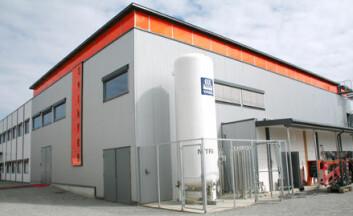 The Norwegian Research Centre for Solar Cell Technology på IFE, sett fra utsiden. (Foto: Andreas R. Graven)