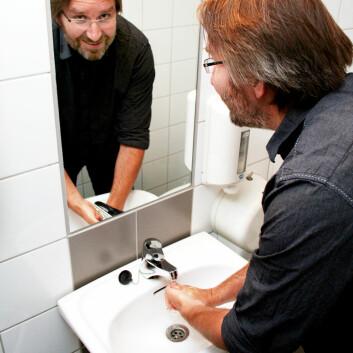 Rådgiver Petter Elstrøm ved Folkehelseinstituttet. (Foto: Andreas R. Graven)