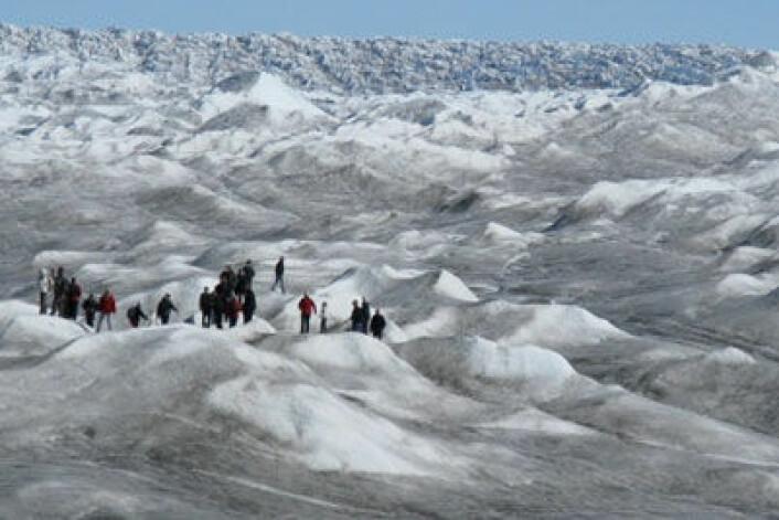 Fra POLARCAT-GRACE-kampanjen i Kangerlussuaq, Grønland, 2008.