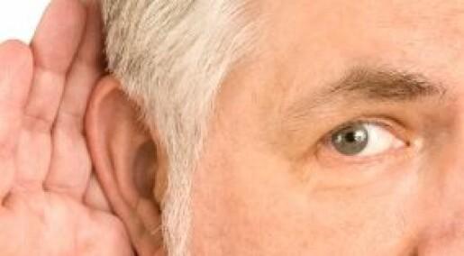 Store ører kompenserer for hørselstap