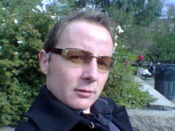 Torgeir Holen ved Universitet i Oslo. Foto: UiO