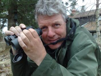 Fugleforsker Magne Husby. (Foto: Bjørnar Leknes)
