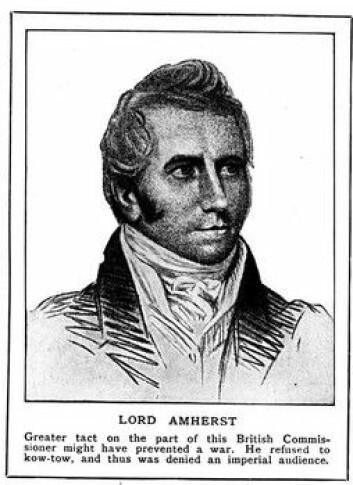 """""""Indianere fikk tepper og lommetørklær med koppesmitte av General Amherst i 1763."""""""