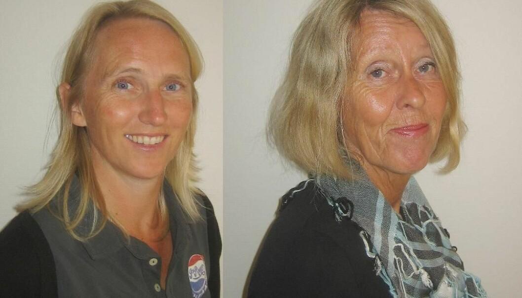 Christine Øye og Aina Skorpen (Foto: UiB)