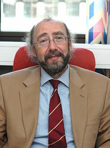 Professor Stuart John Sillars. (Foto: Kim E. Andreassen)