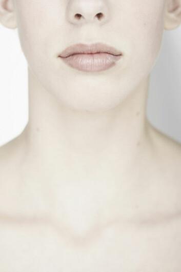 """""""Den bleke og tynne huden vi har om vinteren er ekstra følsom for sola. (Illustrasjonsfoto: www.clipart.com)"""""""