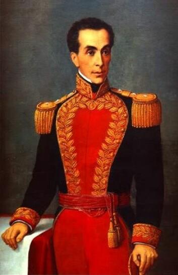 Bolívar er symbolet på den første vellykkede revolusjonen i Sør-Amerika: kampen mot det spanske koloniherredømmet. (Foto: Wikimedia Commons)