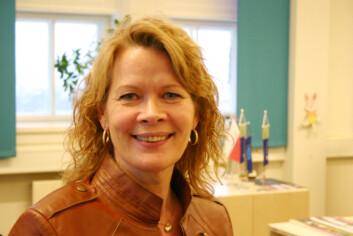Likestillingsrådgiver ved NTNU, Svandis Benediktsdottir. (Foto: Kenneth Stoltz/Universitetsavisa)