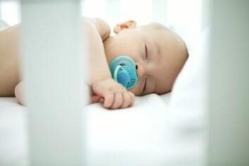 De aller fleste som rammes av nevroblastom er spedbarn og småbarn. (Illustrasjonsfoto: www.colourbox.no)