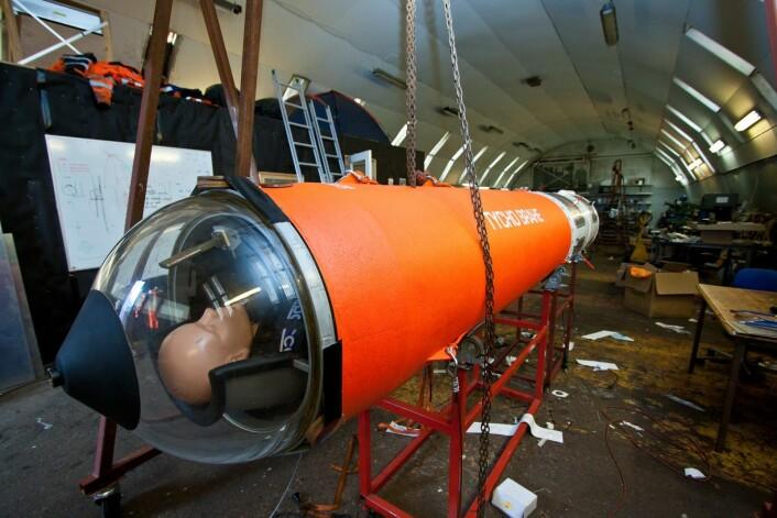 Romraketten bygges av Copenhagen Suborbitals, som i tillegg til Peter Madsen og Kristian von Bengtson, som arbeider med raketten fulltid, utgjøres av 15 frivillige som hjelper på fritiden. (Foto: Copenhagen Suborbitals)