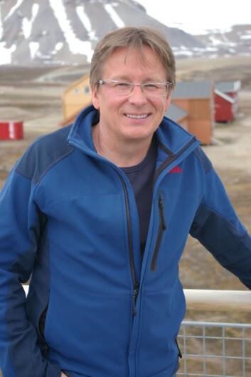 """""""Geir Wing Gabrielsen på Svalbard (Foto: Bjørnar Kjensli)"""""""