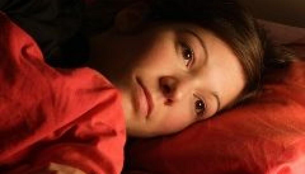 Søvnløshet har like stor effekt på uføretrygd som depresjon.