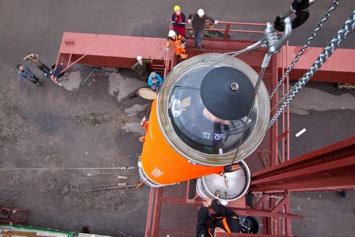 Planen er at raketten skal testes i løpet av første halvdel av september. Da vil den skytes 30 kilometer opp i lufta, og altså ikke ut i rommet. Mulig oppskytingsdato er lørdag 4. september. (Foto: Copenhagen Suborbitals)