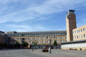 Rikshospitalet er blant de mest energikrevende bygningsmasser i Norge. (Foto: Kjell Lenes)