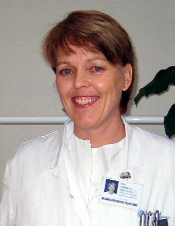 Avdelingsoverlege Ellen Schlichting ved Ullevål universitetssykehus.