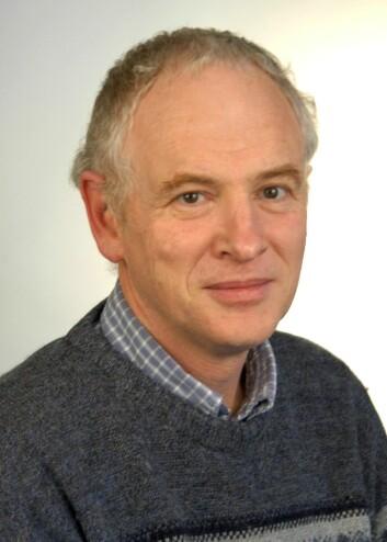 """""""Professor Phil Jones beskyldes nå for å ha visst om at informasjonen om de kinesiske målestasjonene var mangelfull. (Foto: University of East Anglia)"""""""