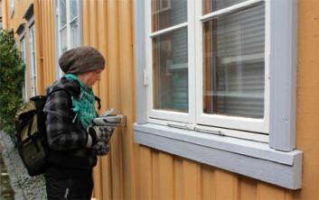 Forskere og studenter har målt blyinnholdet i malingen på 290 bygg i Trondheim sentrum.