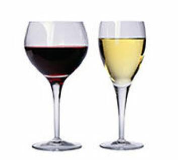 """""""Hvitvin med rødfarge får samme beskrivelse som rødvin."""""""