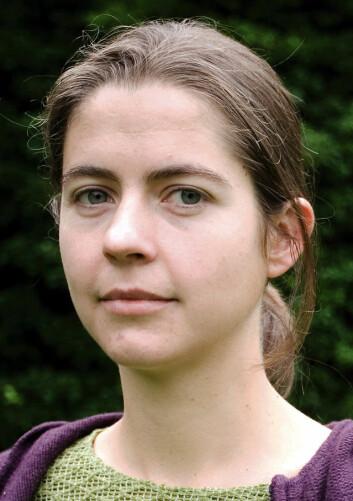 """""""Samfunnsøkonom Anna B. Milford. (Foto: Eivind Senneset)"""""""
