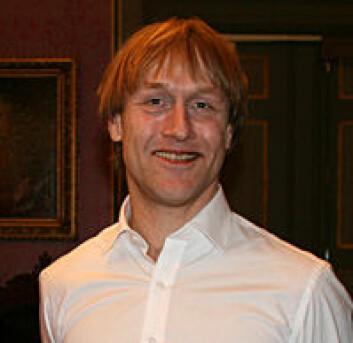 """Geir Aas har skrevet avhandlingen """"Politiinngrep i familiekonflikter"""" (Foto: Karoline Blix-Henriksen)"""