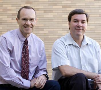 Sosiologiprofessorene Steve Bahr og John Hoffmann ved Brigham Young University står bak studien. (Foto: BYU)