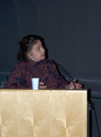 Elisabeth Vrba (Foto: Hanne Jakobsen)