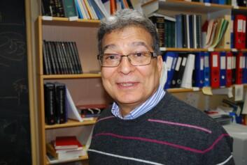 Professor Rafaat El-Gewely ved Universitetet i Tromsø. (Foto: Elisabeth Øvreberg)