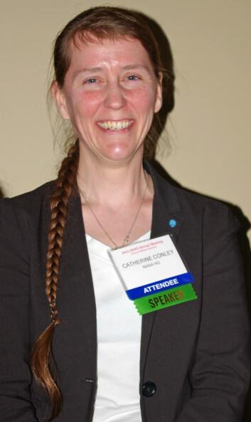 """""""Catharine A. Conley er en av jordas foreløpig tre Planetary Protection Officers. (Foto: Bjørnar Kjensli)"""""""