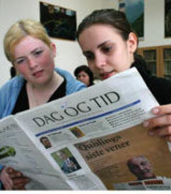 """""""Kort innføring i folkemålet - og dei rumenske studentane er klar for nytt på nynorsk."""""""