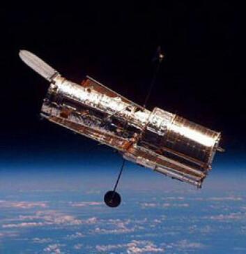"""""""Hubble har revolusjonert astronomien, men skal snart pensjoneres. (Foto: NASA)"""""""