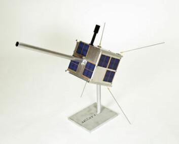 Den norske satellitten AISSat-1.
