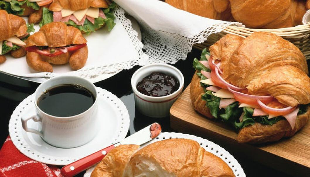 """""""Hva man spiser til kaffen kan uomtvistelig også virke inn på kropp og helse, men det er en annen studie..."""""""