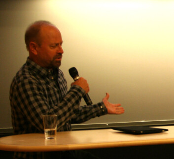 Randy Olson, filmskaper og marinbiolog ved University of Southern California. (Foto: Randi M. Solhaug)