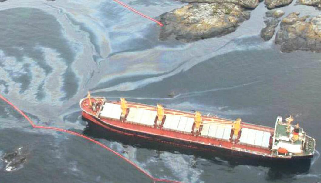 Oljetype avgjør skadevirkning