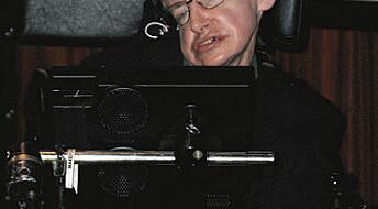 Forventer at Hawking blir bra igjen