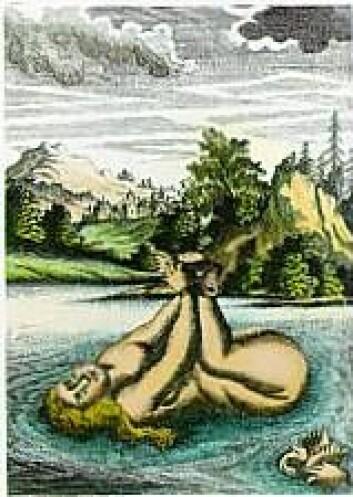 Vannprøven var et vanlig motiv på kobber- og treplater.