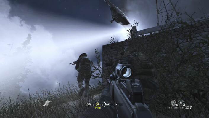 Scene fra actionspillet Call of Duty. (Bilde: Call of Duty/Activision)