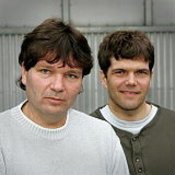 """""""Edvin Østergaard og Gaute Einevoll."""""""