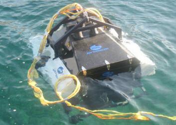 Seabed Harvester er utviklet og bygget i Norge. (Foto: Nofima)