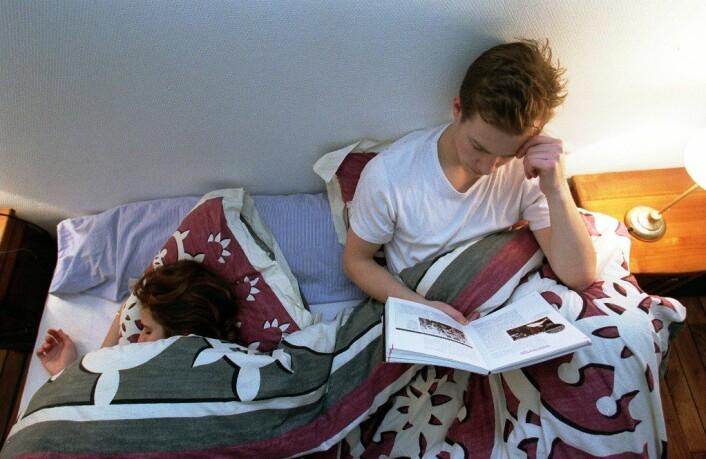 """""""Om søvnløse netter blir et problem, varierer fra person til person. (Foto: www.colourbox.no)"""""""