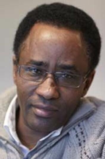 Den etiopiske lingvisten Kebede Hordofa Janko har kartlagt dialekter og grammatikk i oromospråket. (Foto: Annica Thomsson)