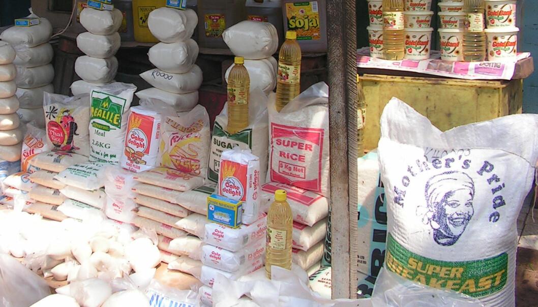 """""""Maismel og stekeolje er hovedingrediensene i Zambisk kosthold."""""""
