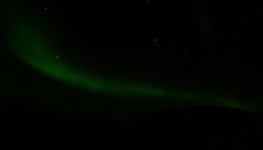 Nordlysrakett skutt opp fra Svalbard