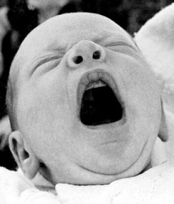 """""""Et gjesp er noe av det første som kommer fra en nyfødt."""""""