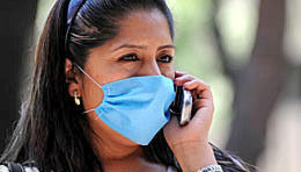 Pandemi? Bildet er fra Mexico nylig etter utbruddet av svineinfluensa. Foto: Shutterstock