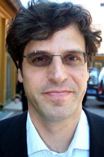 Anthony Geffen er administrerende direktør i Atlantic Productions. (Foto: Asle Rønning)